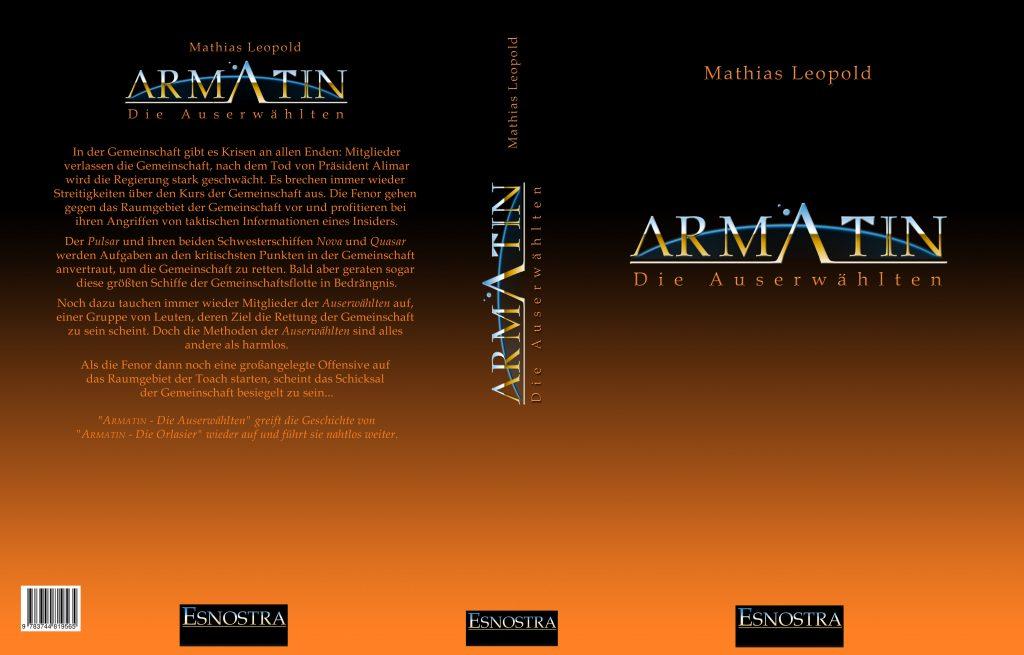 Taschenbuch Armatin - Die Auserwählten Cover